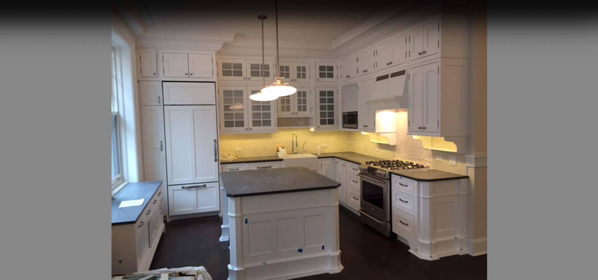 Modern traditional kitchen design kohn architecture for New traditional kitchen designs