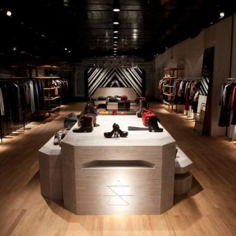 Surface to Air clothing store retail design
