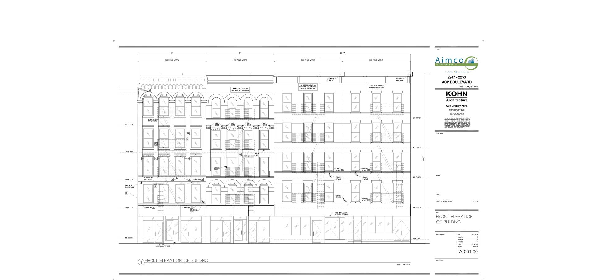 nyc department of buildings architectural blueprint for retail building architecture