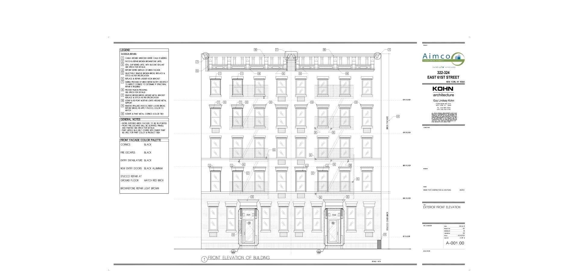 nyc department of buildings architectural blueprint for apartment building architecture