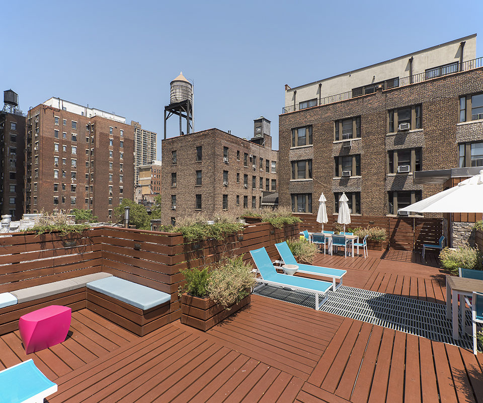 roof deck design and architecture for nyc roof deck construction by kohn architecture nyc for new york city department of buildings zoning permits