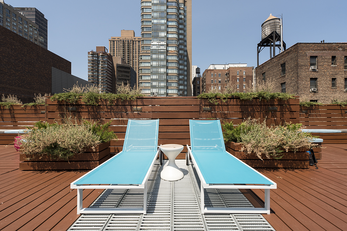 roof deck design and roof deck construction in nyc for cabaret law by kohn architecture nyc