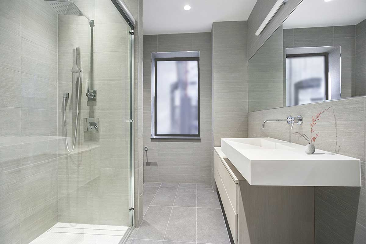 bathroom rendering