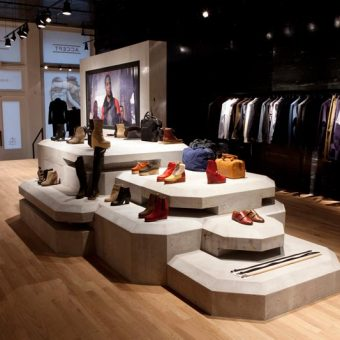 Surface to Air storefront, Modern & Edgy Retail Design