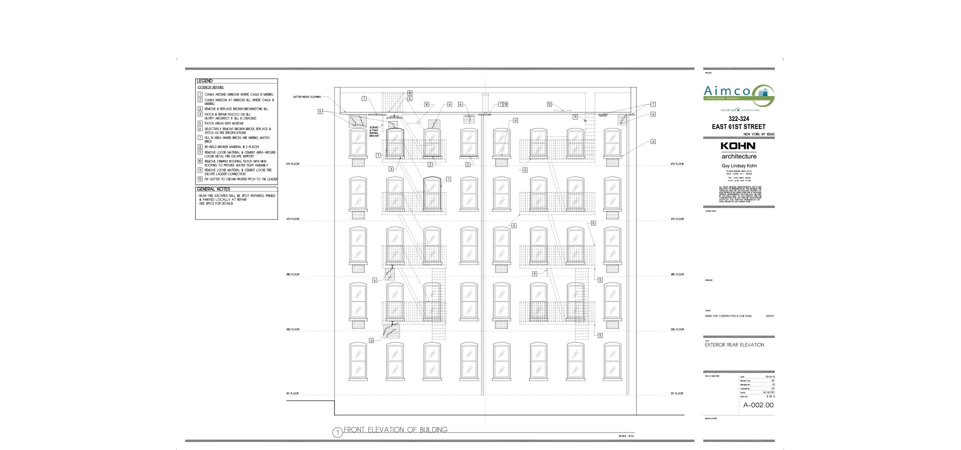 nyc department of buildings architectural blueprint for commercial building architecture and design in nyc by kohn architecture nyc