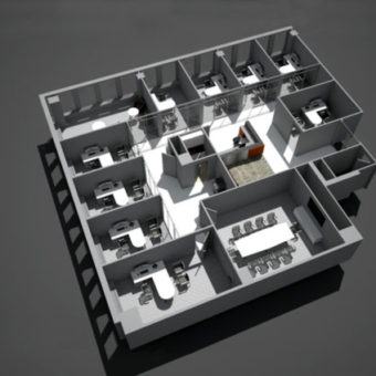 angle view of office architecture and commercial space architecture for nyc department of buildings zoning and permits occupancy